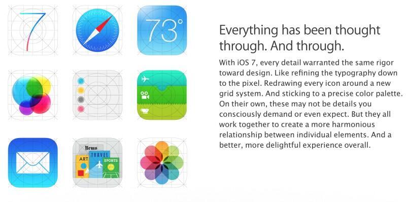 Apple Icons iOS ios 7