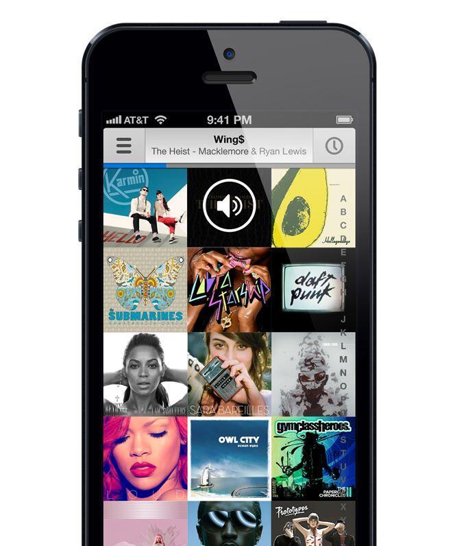 Apple iOS iradio Musik Radio streaming