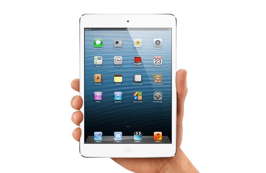 aplpe iOS iPad Mini retina Samsung