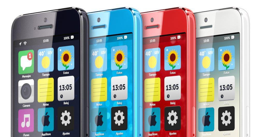 Apple farbe iOS iphone