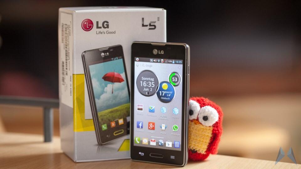 1 Android deutsch einsteiger L5 L5 II LG optimus review Testbericht
