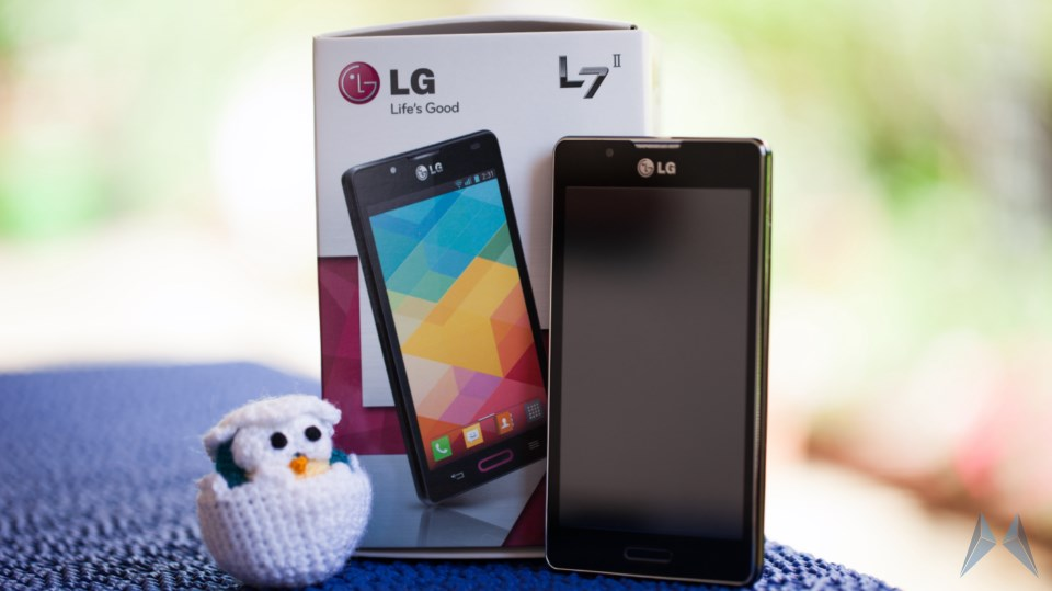Android L7 LG optimus review test