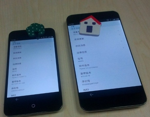 Android Flyme meizu Meizu MX3 Smartphone