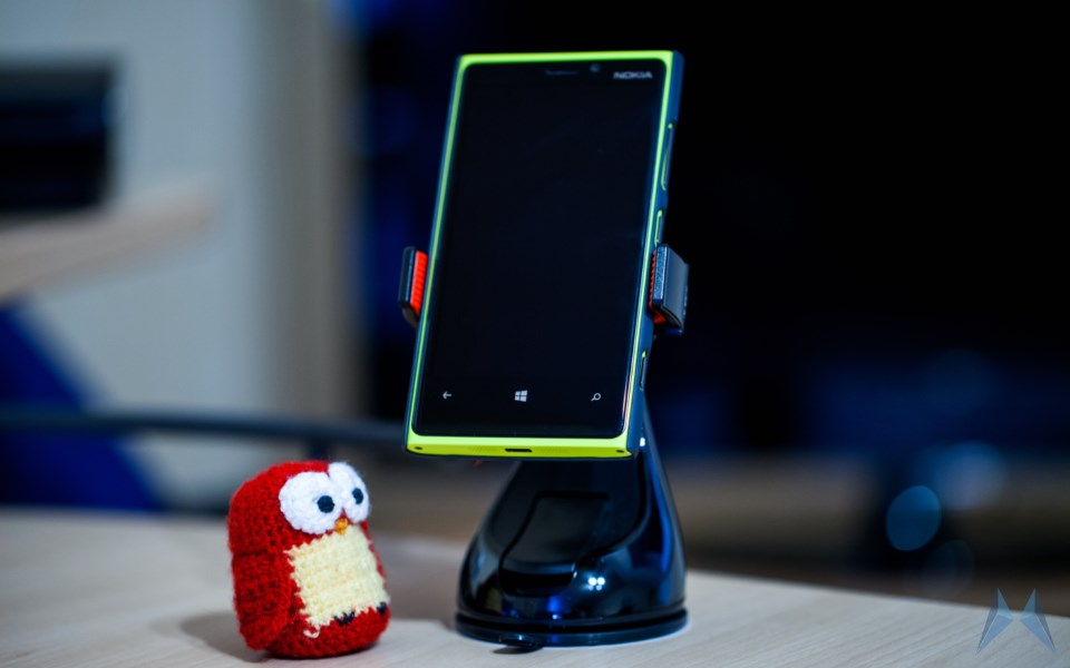 360 Grip Android hands on iOS KFZ OSO review Schreibtisch Smartphone test Universalhalterung Windows Phone