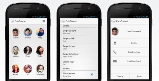 Android app Kontakte