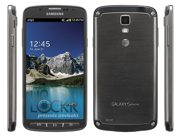 Android evleaks galaxy Galaxy S4 Active Leak Outdoor Samsung Smartphone