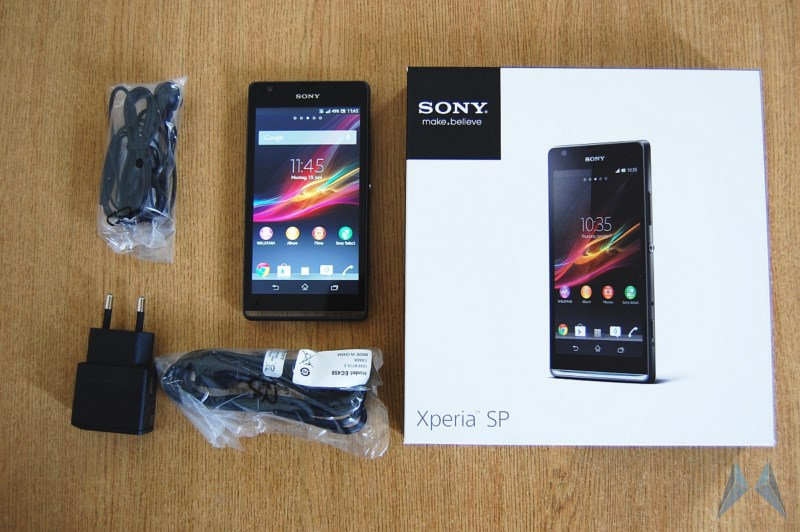 Android ausgepackt Sony sp Unboxing Xperia
