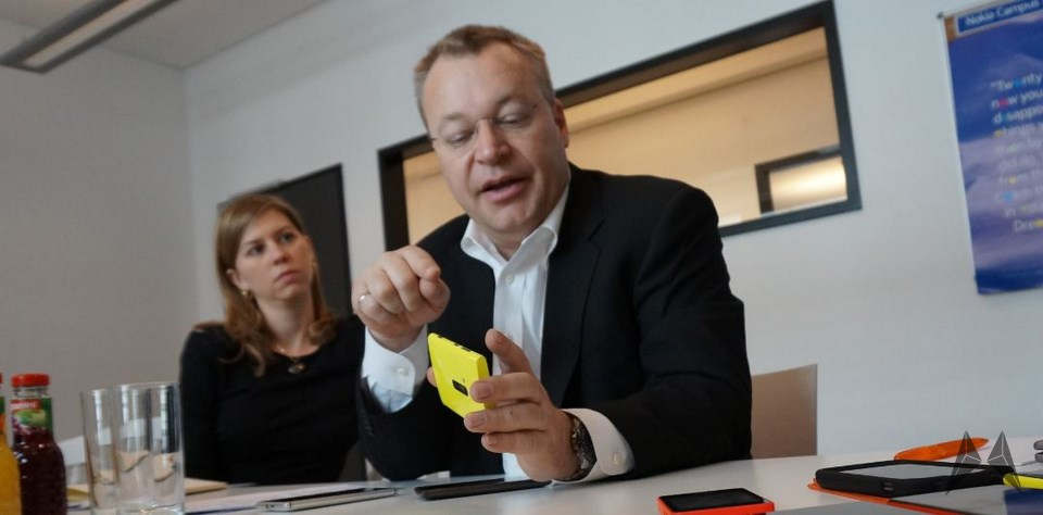 1 interview Lumia Nokia stephen elop Windows Phone