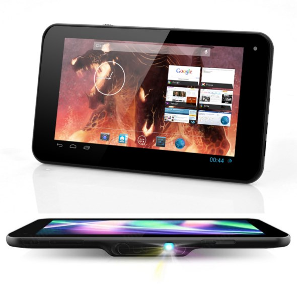 Android beamer tablet