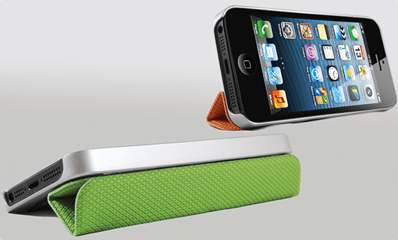 Apple case cover iphone kickstarter logitech projekt smart cover tidytilt