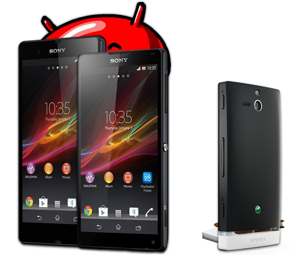 Android Firmware Sony