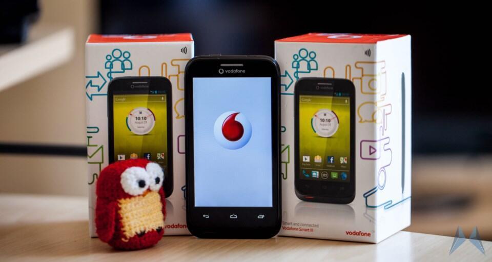 1 Android einsteiger günstig smart 3 test Testbericht Vodafone