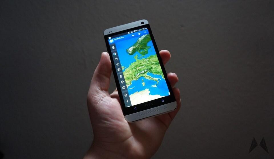 Android meteoearth Update weatherpro