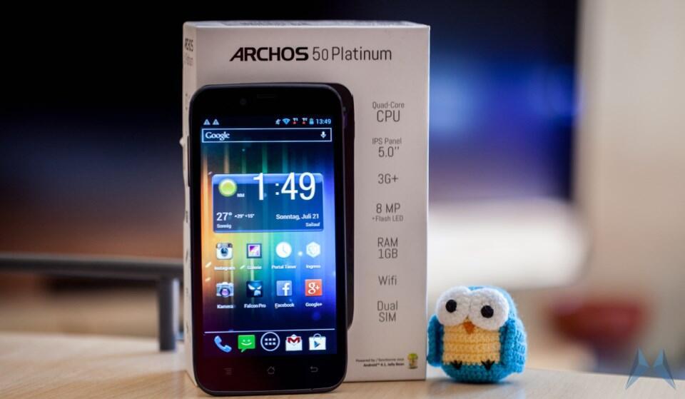 1 Android Archos Archos 50 Platinum DUAL-Sim