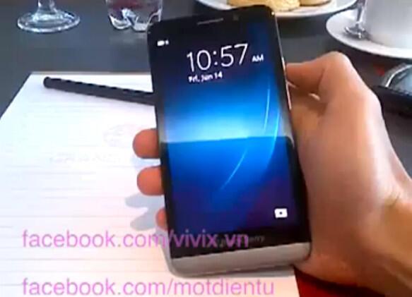 blackberry BlackBerry A10 BlackBerry OS Leak Smartphone Video