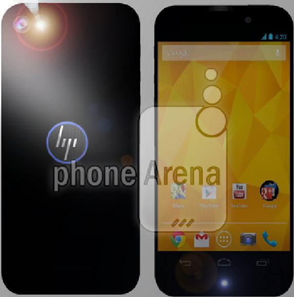 Android HP render Smartphone