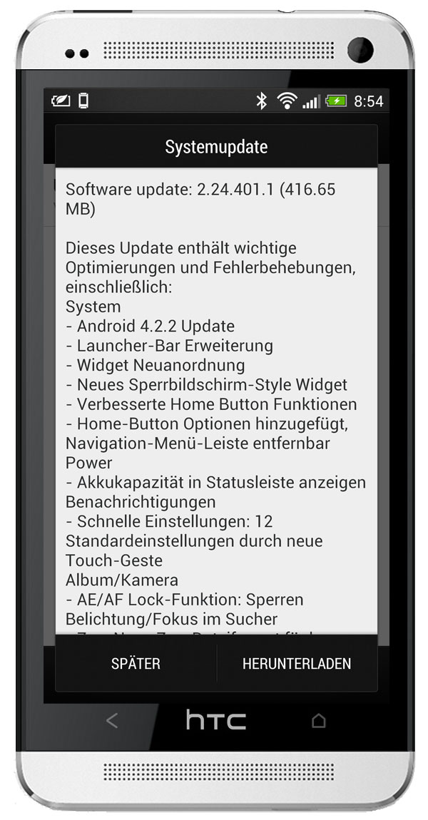 Android Firmware HTC one ota Update