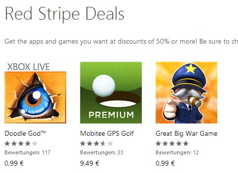 Apps deal Windows Phone