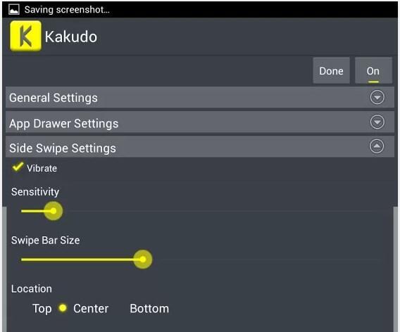 Kakudo – Gestensteuerung für Android ohne Root