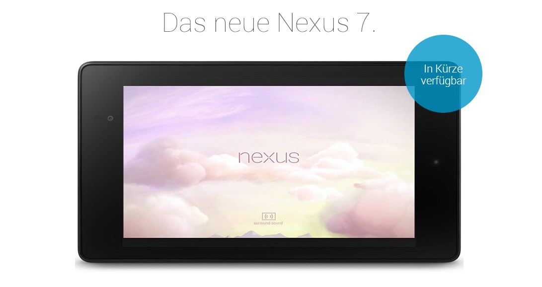 Android Google nexus nexus 7