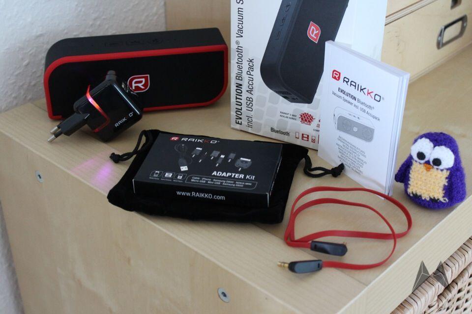 akku Android Bluetooth Gadget iOS Lautsprecher Raikko Windows Phone
