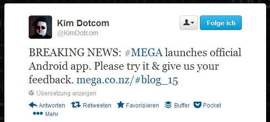 Android cloud mega Update