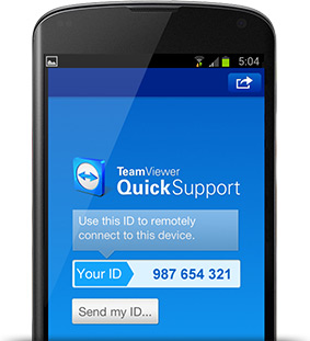 Android iOS teamviewer