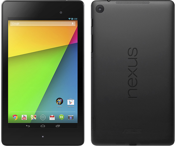 Android Asus cpu Google nexus 7 Snapdragon 600 tablet