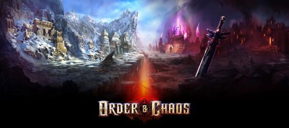 games iOS MMORPG Order & Chaos Spiele
