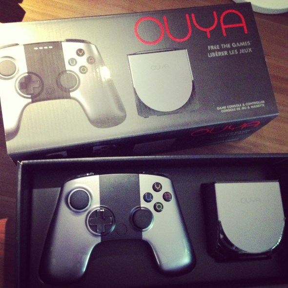 Android konsole Ouya