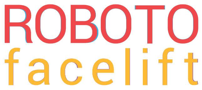 Android Leak roboto Schrift