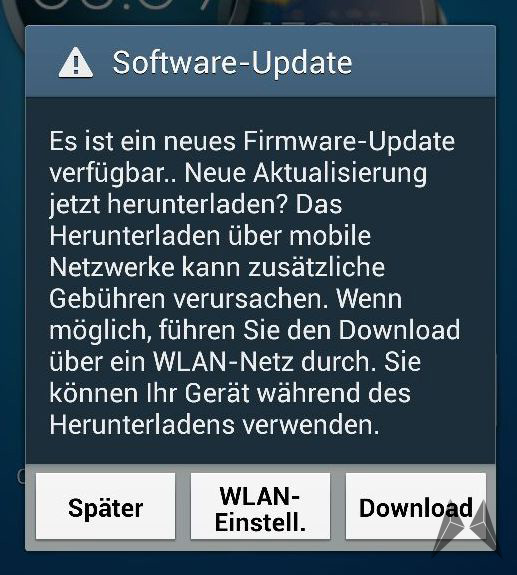 Android Galaxy S4 Samsung Update