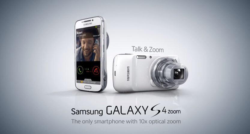 Android Galaxy S4 Zoom Samsung werbung