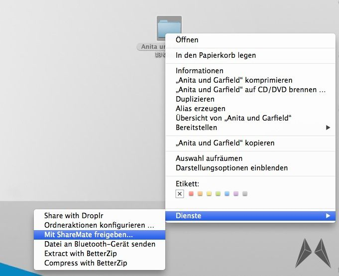 Apple dropbox mac OSX