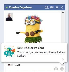 facebook fun Messenger social sticker