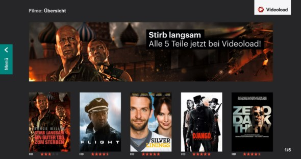 streaming TV videoload vod