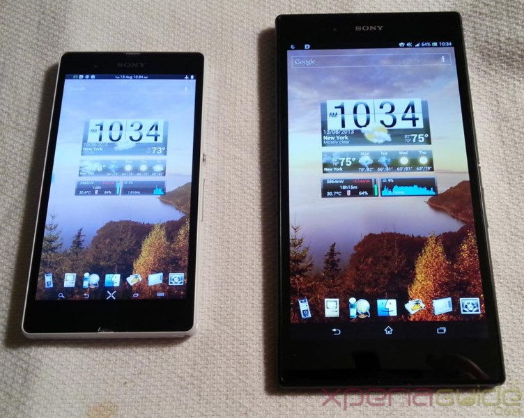 Android Sony ultra Xperia