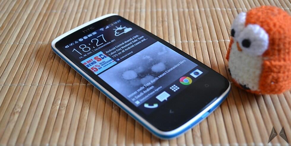 Android Desire Desire 500 HTC Sense 5.0 Smartphone Testbericht