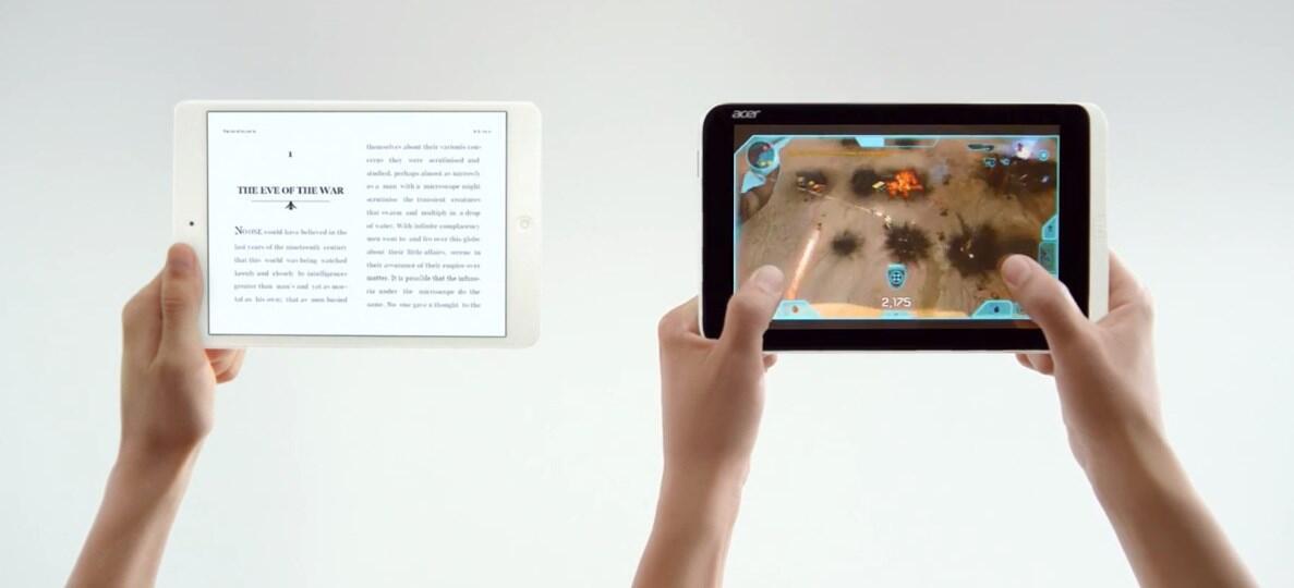 Acer Apple iPad microsoft Windows