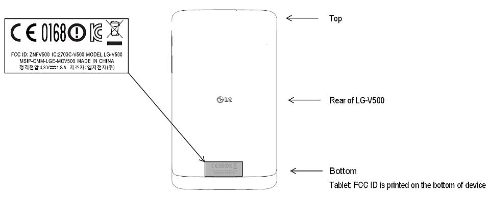 Android fcc IFA2013 Leak LG Tablets