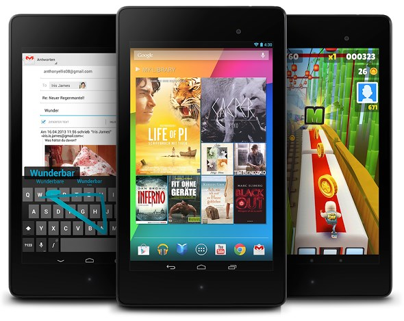 Android Google N7 nexus nexus 7 tablet