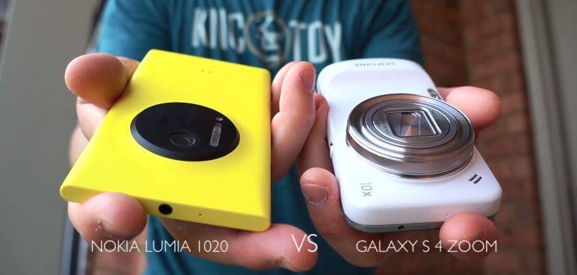 Android galaxy Lumia Nokia s4 zoom Samsung vergleich Windows Phone
