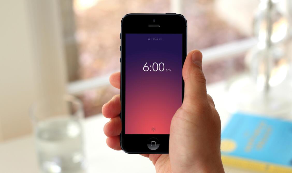 Apple iOS rise Wecker