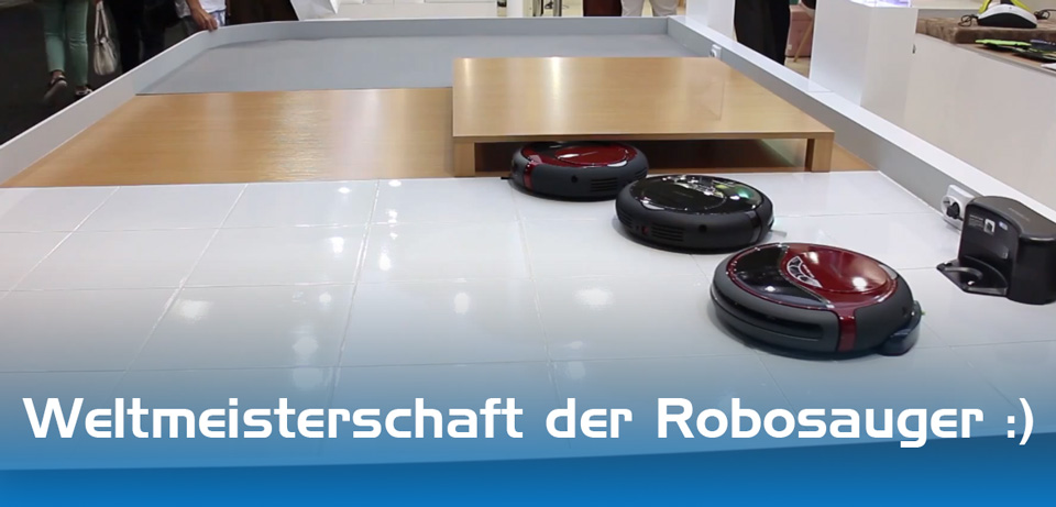IFA2013 Robo staubsauger