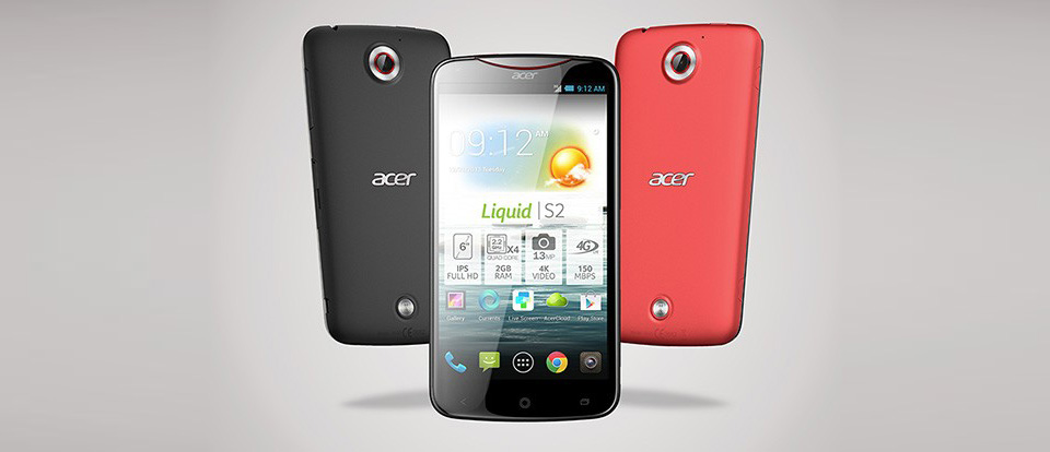 Acer Android IFA2013 liquid s2