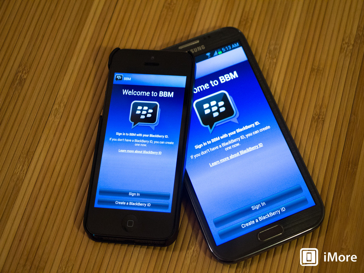 Android BBM blackberry iOS Leak rollout stopp