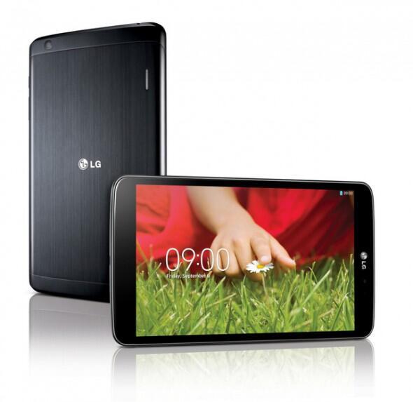 Android ankündigung g pad LG offiziell tablet