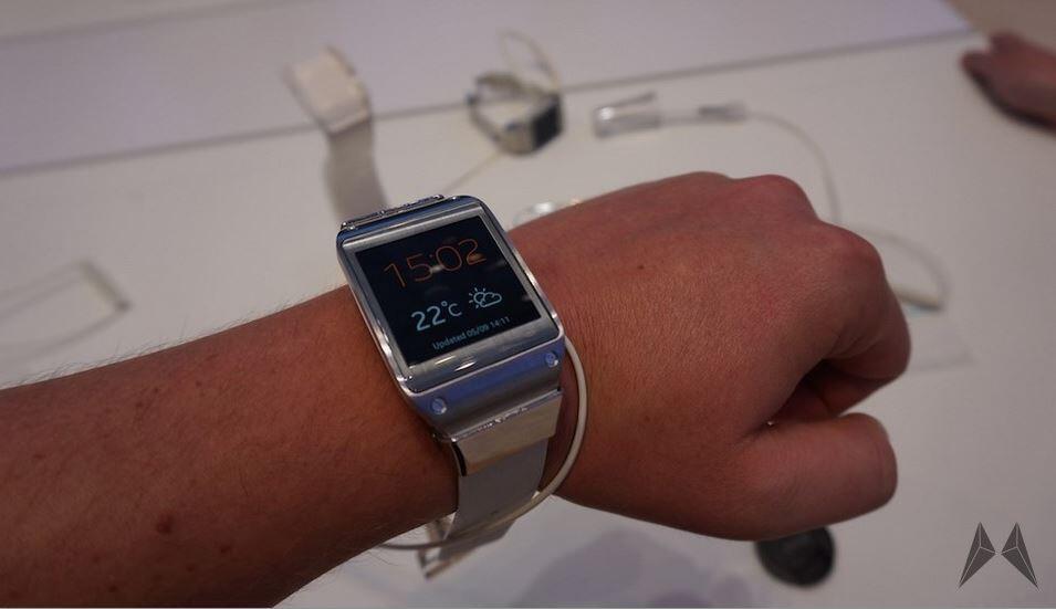 kabelloses laden MWC2015 Samsung tizen