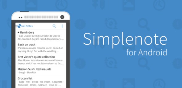 Android Simplenote