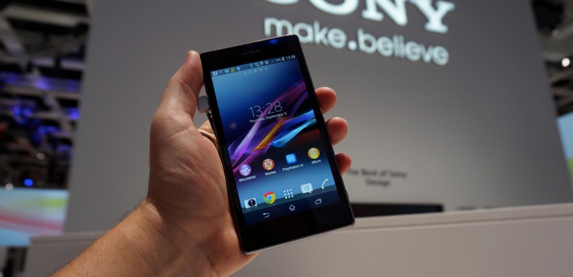 Android IFA2013 Sony Xperia z1